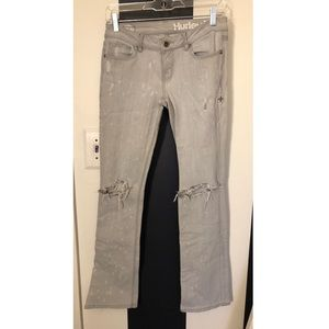 Hurley skinny boot distressed jeans